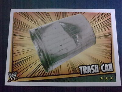 carte slam attax rumble trash can PROP CARD neuf