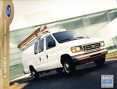 2003 Ford E-Series Van 16-page Work Sales Brochure - Commercial