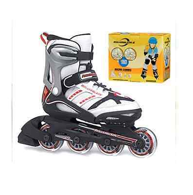 Rollerblade - Micro Combo 4 Size Extendable  - Adjustable Kids Inline Skate Set