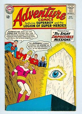 Adventure #323 August 1964 VG Eight Impossible Missions