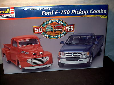 Model Kit Ford F-150 Pick up Combo 50th Anniversary