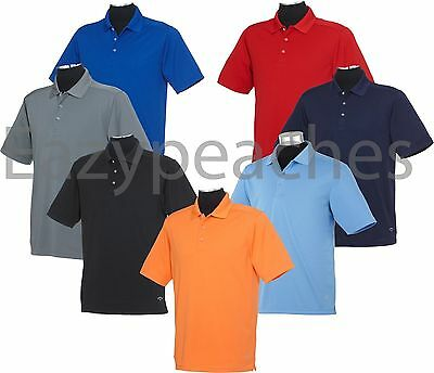 Callaway Golf - Mens Size S-3XL 4XL, Dry Core Polo Sport Shirt dri fit Wicking