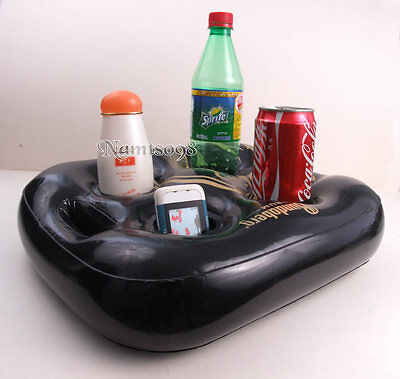 Inflatable float Storage Holder/Bath Spa Pool Party/Drink Bottle Phone MP3 Snack