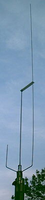 True Dual Band 2M/70CM Stainless Steel J-pole Antenna