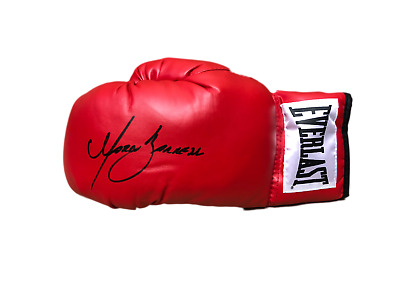 Marco Antonio Barrera Signed Everlast Boxing Glove Exclusive Signing At Allstars