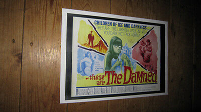 These are the Damned Repro POSTER