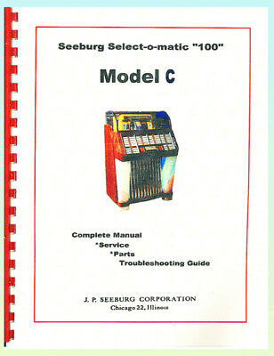 Seeburg Model C Complete Service Manual 200+ Pages