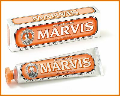 MARVIS GINGER MINT 75 ml DENTIFRICIO ZAHNPASTA TOOTHPASTE