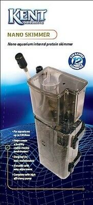 Kent Marine Nano Protein Skimmer For Reef Fish/coral Tank 120L