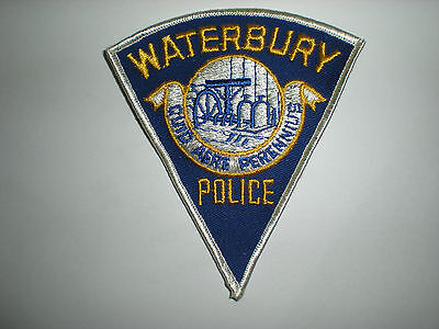 Waterbury, Connecticut Police Department Patch