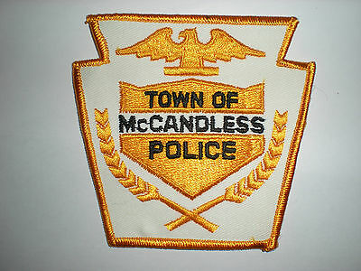 Mccandless, Pennsylvania Police Department Patch