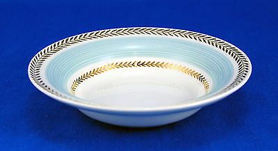 American Limoges Candle Light LYCEUM BLUE LC Fruit / Dessert Bowl 5.5 in. USA