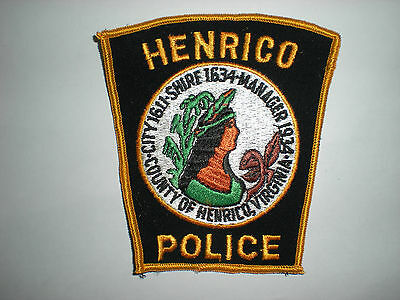 Henrico, Virginia Police Department Patch