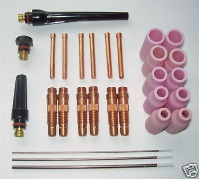 Wp17, Wp18 And Wp26 Tig Torch Master Accessory Kit