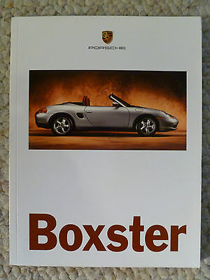 1996 Porsche Boxster INITIAL Showroom Advertising Brochure RARE!! Awesome L@@K