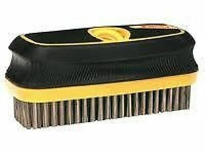Purdy Extension Pole Adaptable Wire Block Brush Stainless Steel Bristle