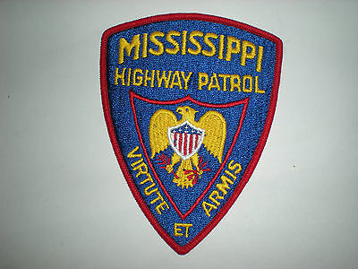 MISSISSIPPI STATE HIGHWAY PATROL PATCH
