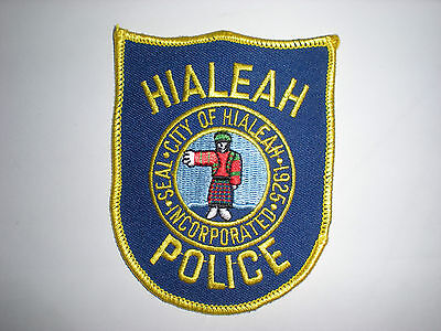 Hialeah, Florida Police Department Patch