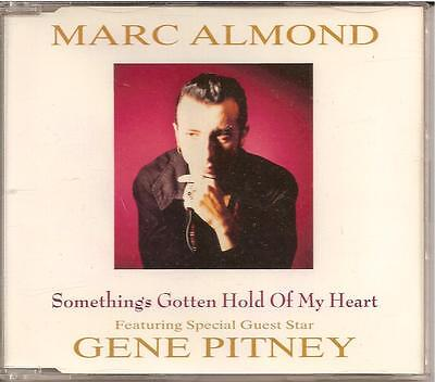 MARC ALMOND - something's gotten hold of my heart CDM 3TR 1989 (PARLOPHONE)