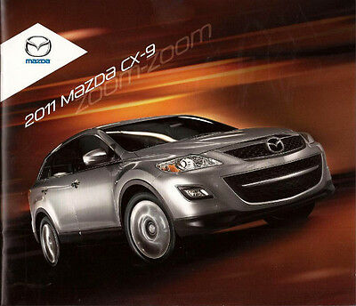 2011 11 Mazda 9 Series Original sales brochure MINT