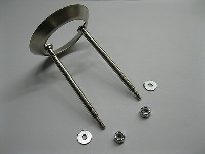 New Pop Bumper Ring and Rod Assembly w/ Nuts Washers & fits most Pinball Machine