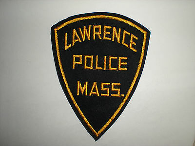 Lawrence, Massachusetts Police Department Patch