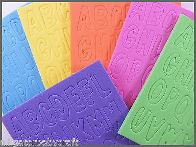 156 foam neon letters alphabet stickers 6 sets 38 abcraft kids bright