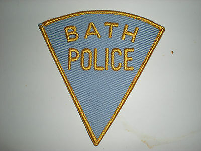 Bath, Maine Police Department Patch