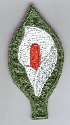 Easter Lily Patch ,Aufbügler,Aufnäher I.R.A Symbol Nordirland,Lilie