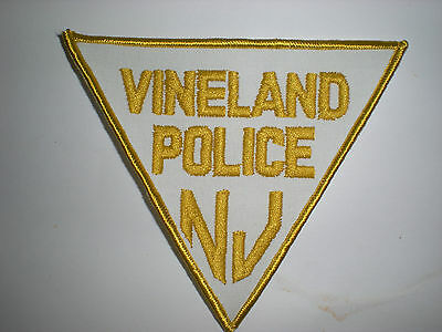 Vineland, New Jersey Police Department Patch