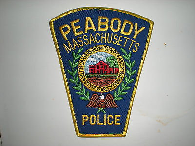 Peabody, Massachusetts  Police Department Patch