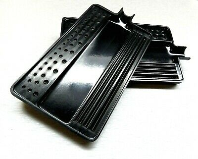 Tray For Sorting Plastic Black Tray For Diamonds & Gems 2 Pcs Sort Stone Size