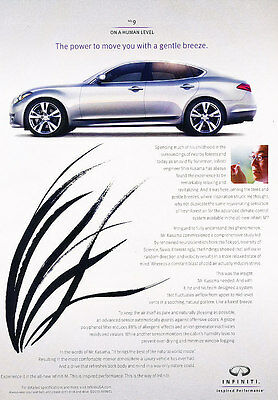 2011 Infiniti M M45 M35 - power - Classic Vintage Advertisement Ad PE96