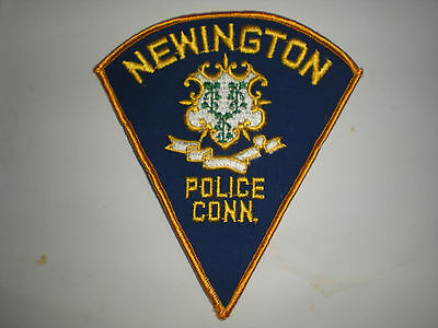 Newington, Connecticut Police Department Patch