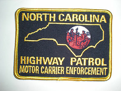North Carolina Highway Patrol Motor Carrier Enforcement Patch