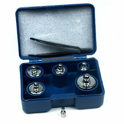 5 pcs calibration weight set 5g 10g 20g 50g with free 1g weight