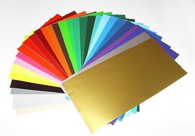 "12"" x 12"" Glossy Adhesive backed Vinyl for Cricket, Silhouette Cameo, etc..."