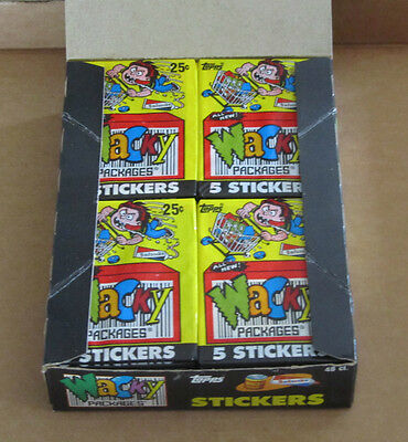 Vintage Wacky Packages Rare 1991 Series Unopened Pack In Very Good Condition