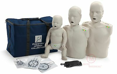 The Prestan LS Collection CPR AED Manikins (Adult-Child-Infant) PP-FM-300M