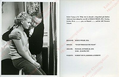 MARCUS WELBY MD Press Photo 7X9 ROBERT YOUNG Barbara Anderson insight IRONSIDE
