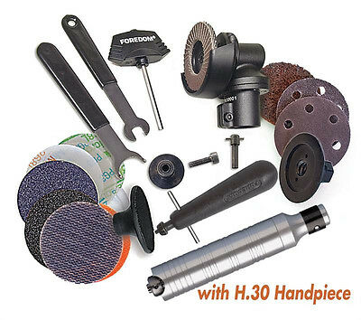 "Angle Grinder Foredom AK69130 2"" Grinder Kit With # 30 Handpiece + Accessories"