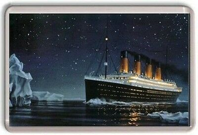 Titanic Fridge Magnet 01