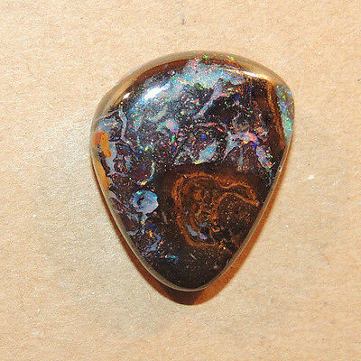 Boulder Opal Cabochon 20x12mm with 5mm dome 16.16cts (2090)