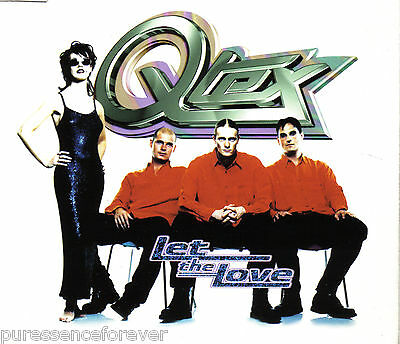 Q-TEX - Let The Love (UK 6 Track CD Single)