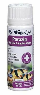 Waterlife Parazin 20 Tablets Tank Treatment Fish Lice Anchor Worms Gill Aquarium