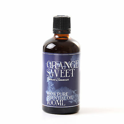 Orange Sweet Essential Oil - 100% Pure - 100ml (EO100ORANSWEE)