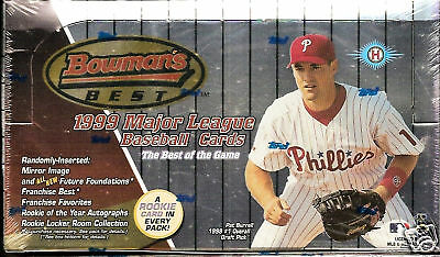 1999 Bowman's Best Baseball Hobby Box   Derek Jeter AUTO ??? M  Holliday RC ???