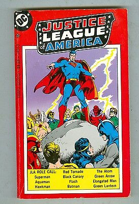 Justice League of America 1977 Tempo paperback VG/FN