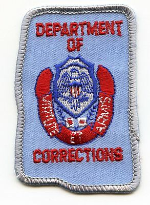 MISSISSIPPI MS STATE shape shaped Corrections DOC police HAT PATCH