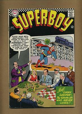 Superboy 140 (Strict VG) Nice! (id# 2944) Silver Age comic